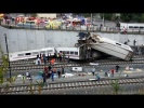 Spain train crash: Dozens killed as high-speed train derails in Santiago de Compostela