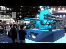 Russian Pantsir-ME air-defence system presented at IDEX in Abu Dhabi