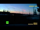 Russian meteor: Spectacular dash cam video of meteorite fireball falling in Urals